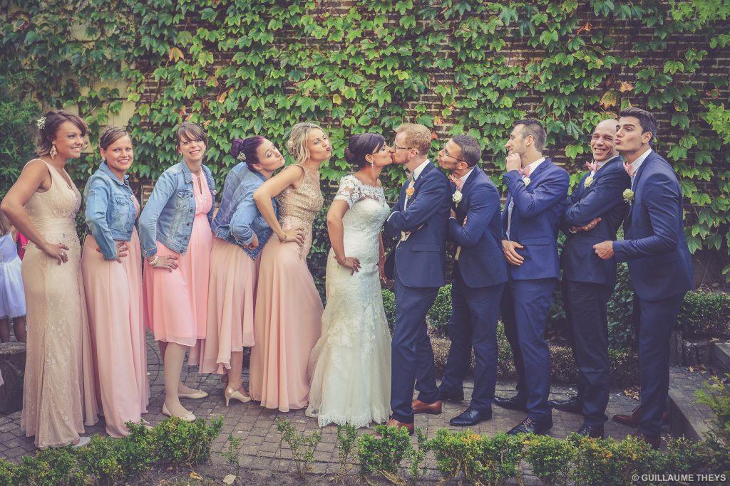 Photographe mariage les Charmettes Mouscron