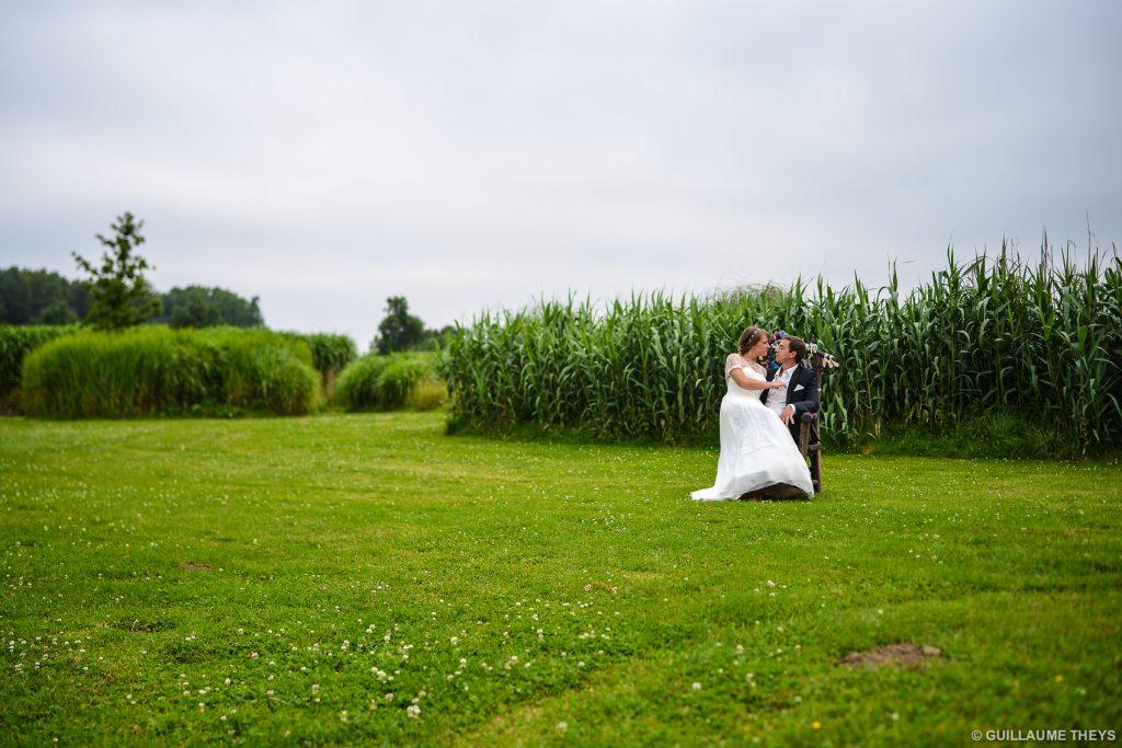 Photographe mariage parc Mosaic