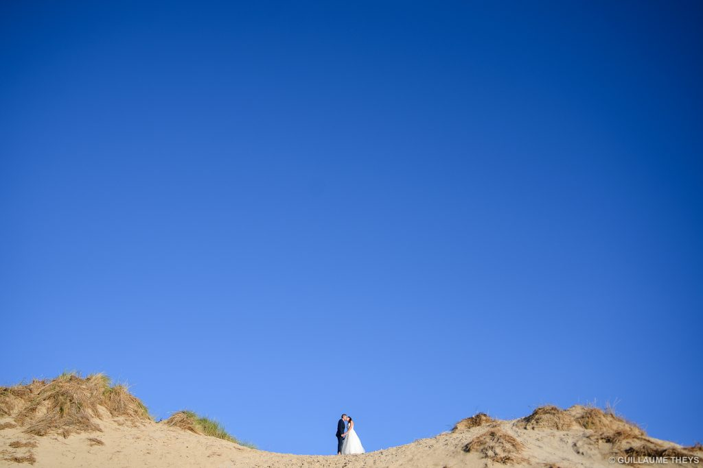 photo mariés Wissant