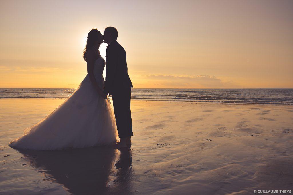 photo mariés plage