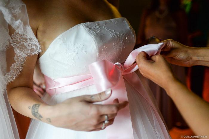 Photo mariage le prieuré