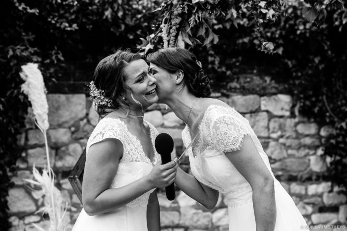 Photo mariage au domaine de la ferme